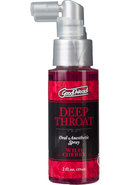 Goodhead Deep Throat Oral Anesthetic Spray Wild Cherry 2...