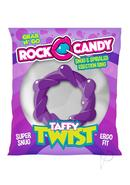 Rock Candy Taffy Twist Cock Ring - Purple